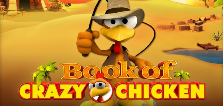 Book of Crazy Chicken Titelbild